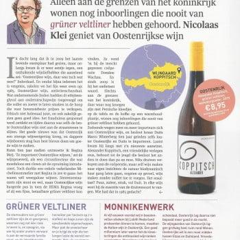 Grüner Veltliner Koppitsch in Elsevier Juist