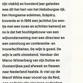 Marof Red Volkskrant