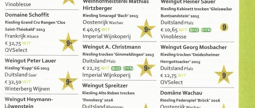 Top 25 Riesling