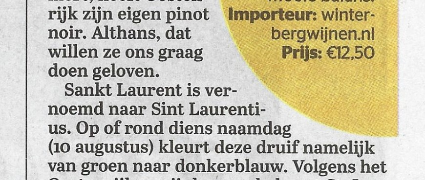St. Laurent Gisperg Telegraaf