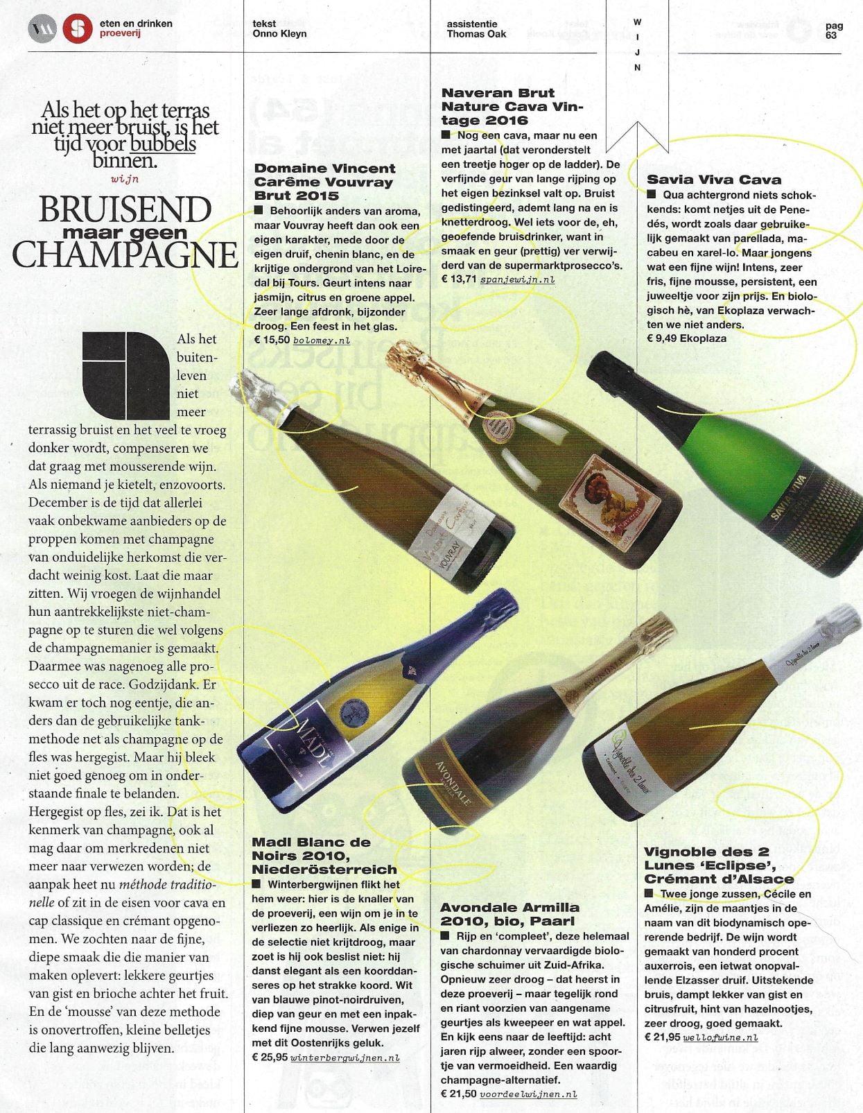 Madl in Volkskrant Magazine