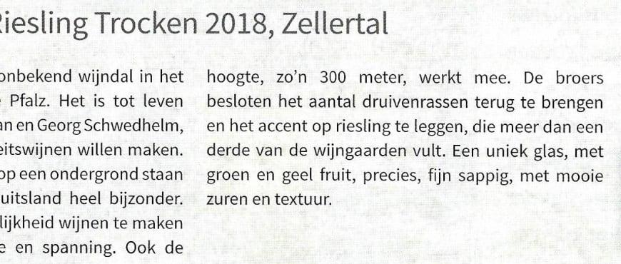 Riesling Zellertal 2019 Perswijn