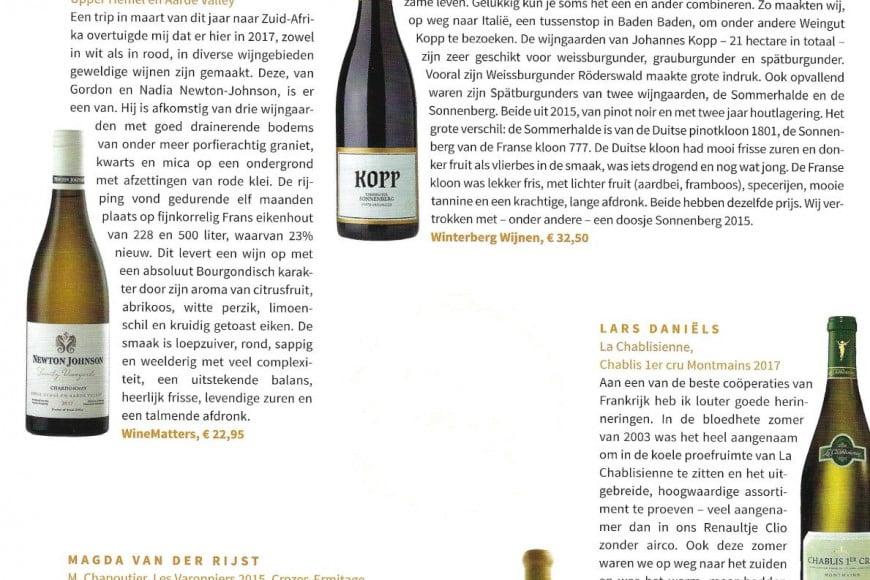 Pinot Noir Sonnenberg