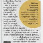 Scheurebe Telegraaf