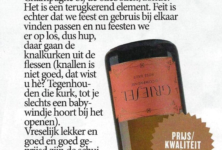 Griesel in Volkskrant