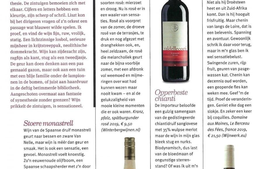 Rosé Kranz in Zin Magazine