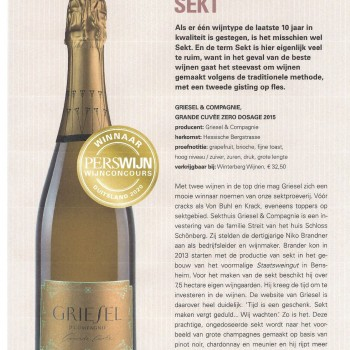 Wijnconcours Duitsland Grande Cuvée