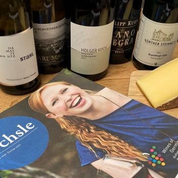 Duitse kaas en wijn
