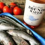 Rosé en sardines